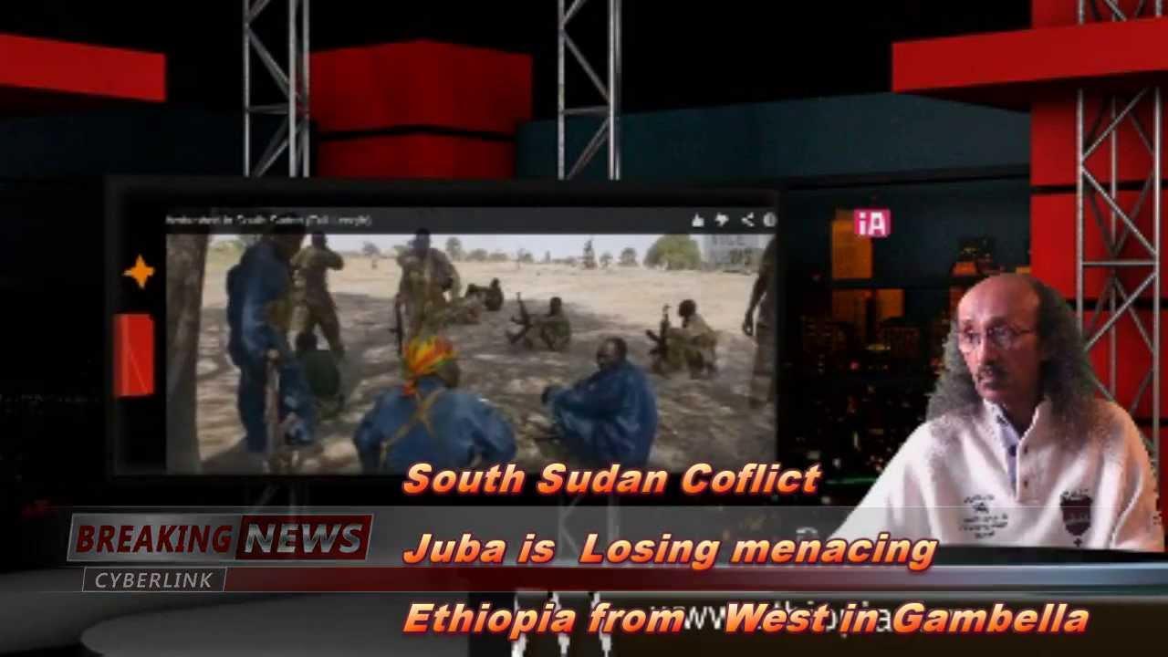 South Sudan Conflict Juba Losing Menacing Ethiopia